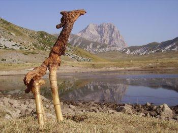 scultura Giraffa (25441 bytes)