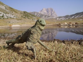 scultura Camaleonte (30101 bytes)