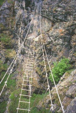 Alcune schede di ferrate recenti for Gradini del ponte curvi